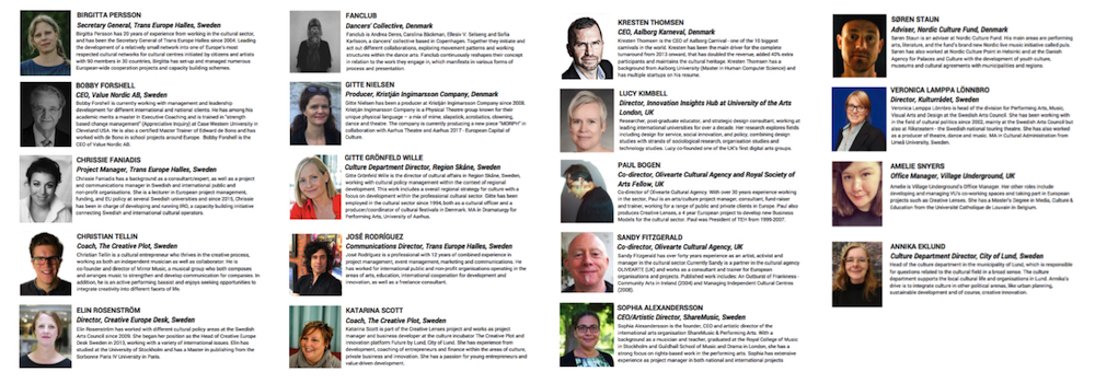 Creative Lenses Forum Lund | Speakers